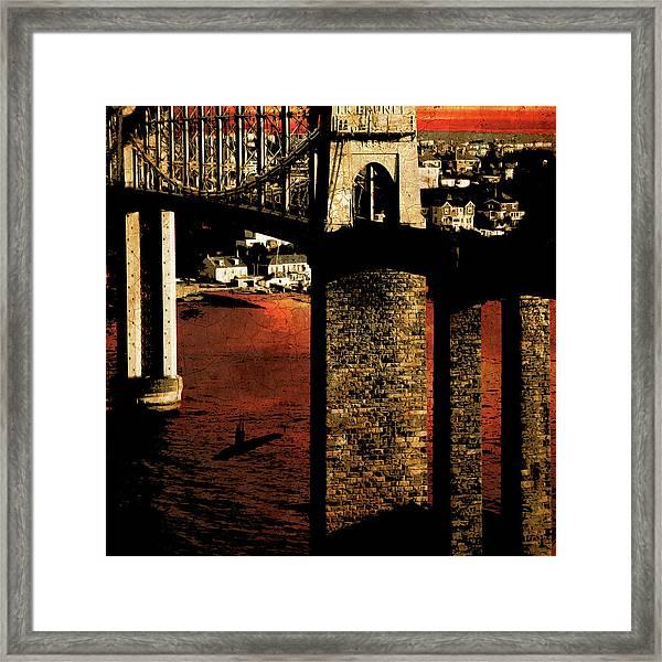 Bridge II Framed Print