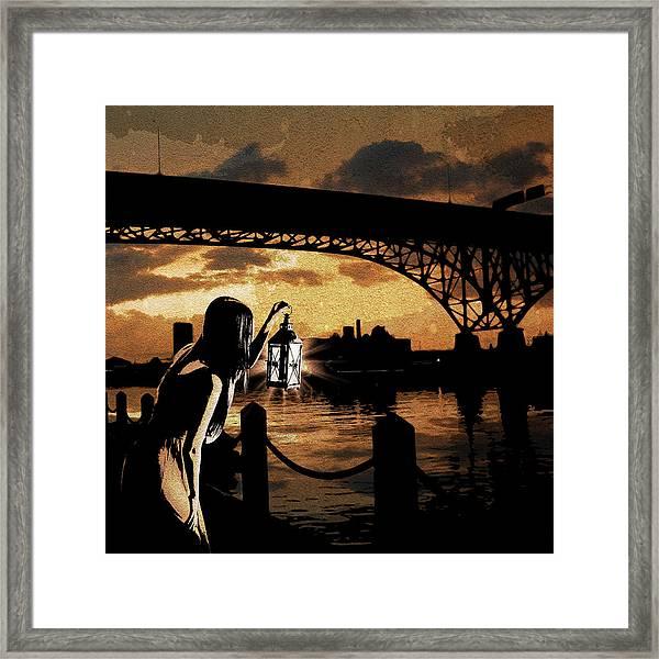 Bridge Iv Framed Print