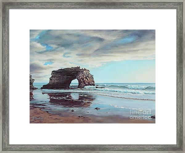 Bridge Rock Framed Print