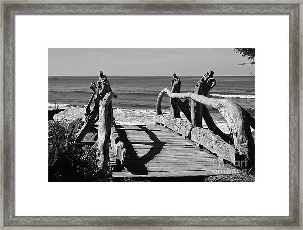 Bridge To Heaven Framed Print