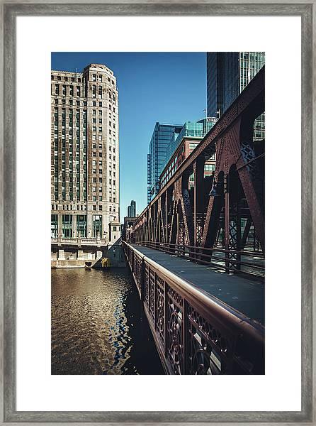 Bridging It Framed Print