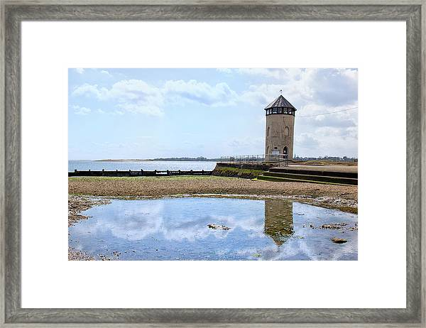 Brightlingsea Reflections Framed Print