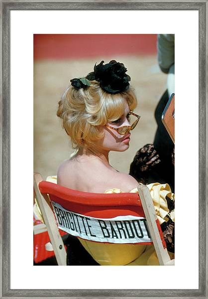 Brigitte Bardot Framed Print by Loomis Dean