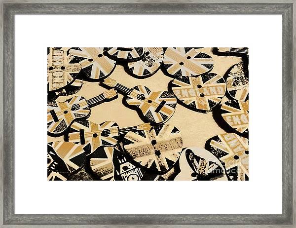 British Punk Rock Framed Print