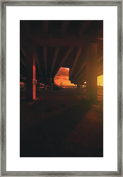 Broiler Framed Print