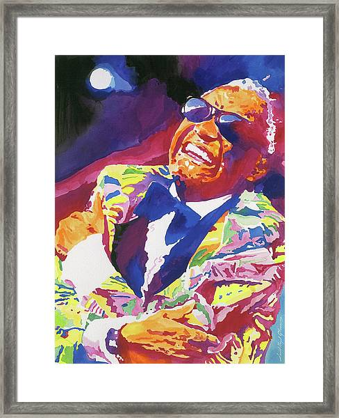 Brother Ray Charles Framed Print
