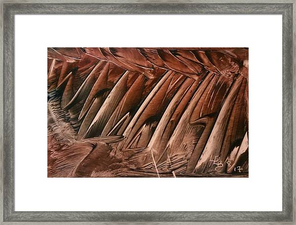 Brown Ladders/steps Framed Print