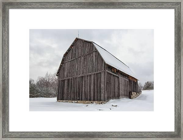 Brunson Barn 1 Framed Print
