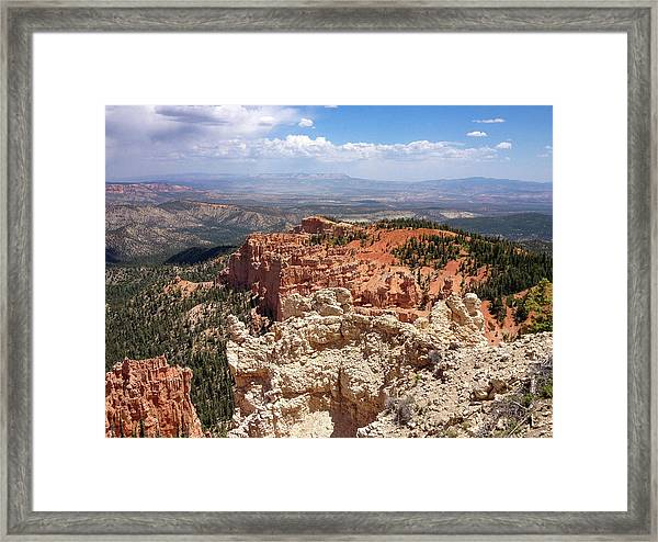 Bryce Canyon High Desert Framed Print
