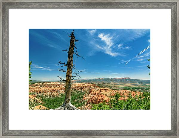 Bryce Canyon Np - Bryce Point Framed Print