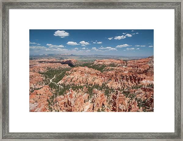 Bryce Canyon Trail Framed Print