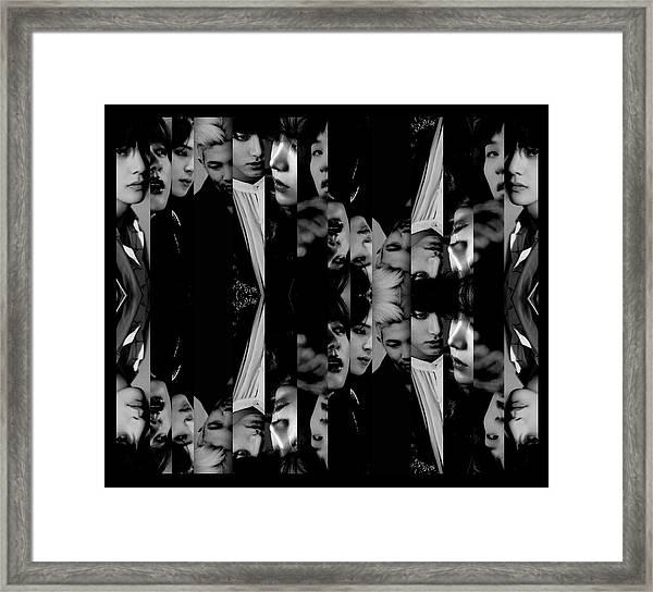Bts - Bangtang Boys Framed Print