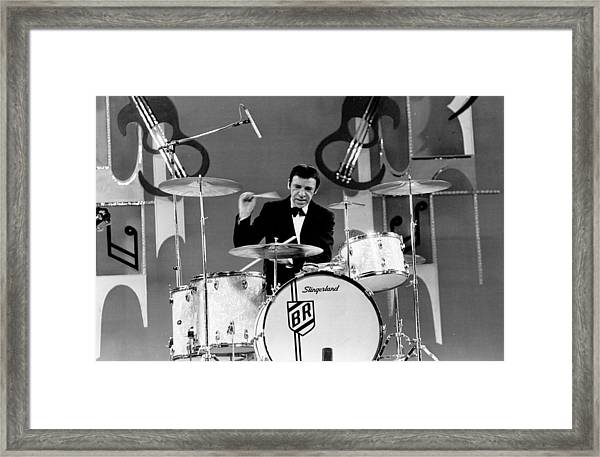 Buddy Rich Framed Print