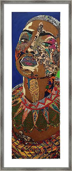 Ibukun Ami Blessed Mark Framed Print