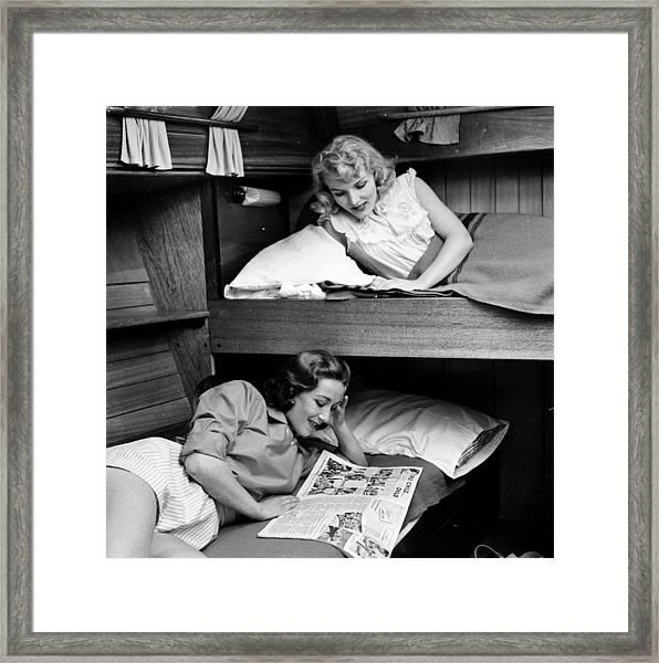 Bunk Beds Framed Print by John Drysdale