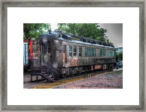 Burlington Passenger Car Framed Print by G Wigler