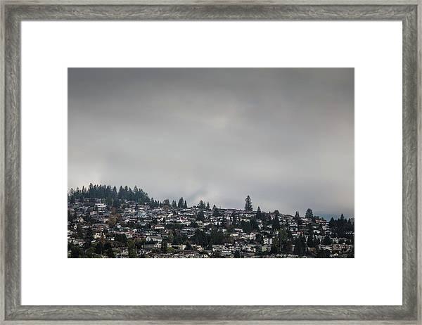 Burnaby Hill Framed Print