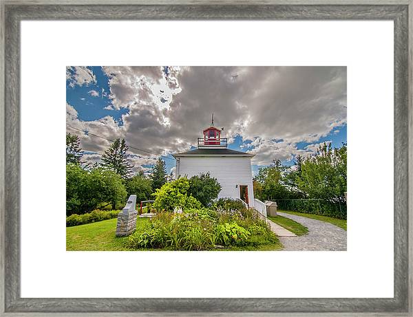 Burntcoast Head Lighthouse  Framed Print