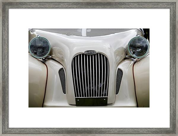 Framed Print featuring the photograph Burton by Anjo Ten Kate