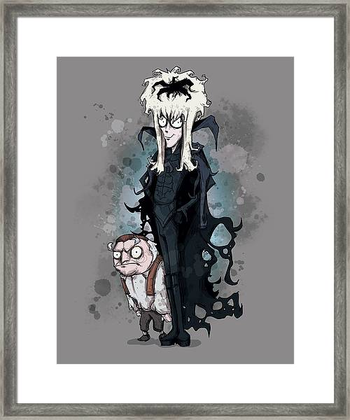 Burton Labyrinth Framed Print