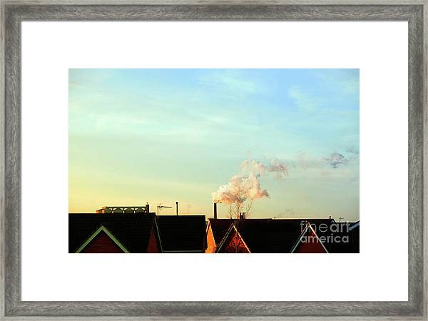Bury St Edmunds Factory  Framed Print