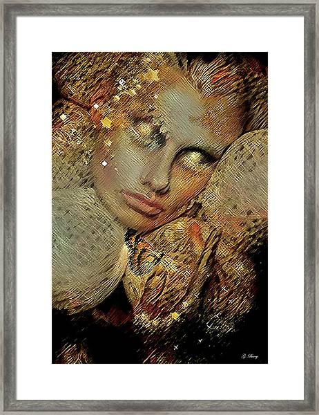 Butterflies Are Like Guardian Angels 002 Framed Print