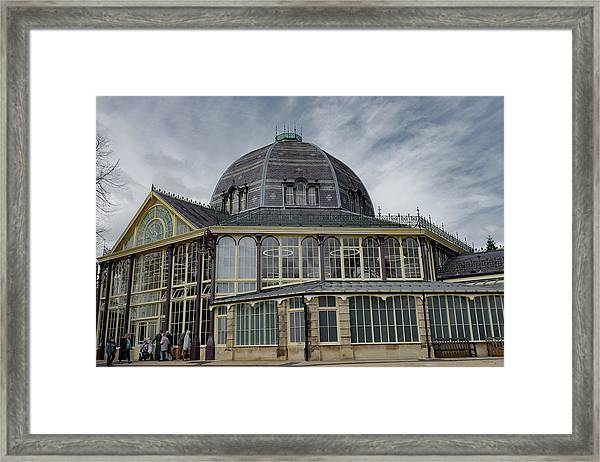 Buxton Octagon Hall At The Pavilion Gardens Framed Print