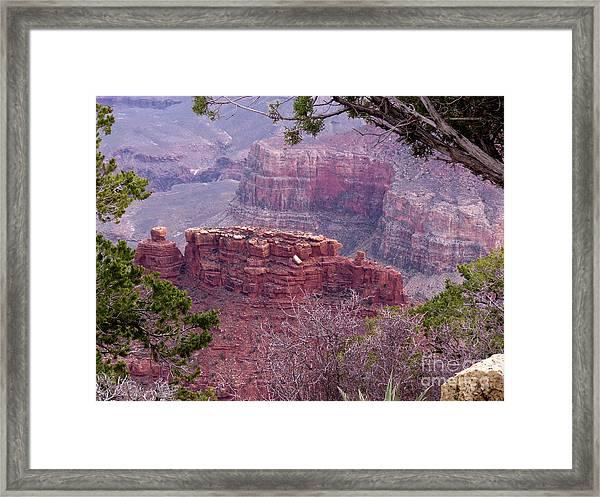 By The Ridge Framed Print