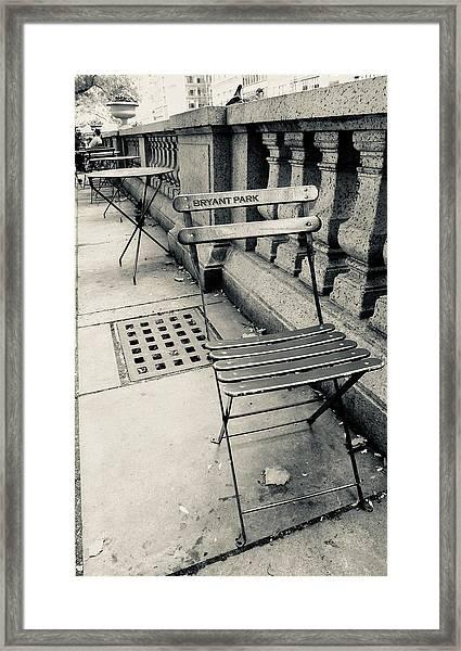 Byrant Park Framed Print