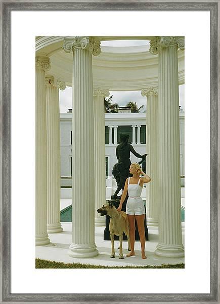 C. Z. Guest Framed Print