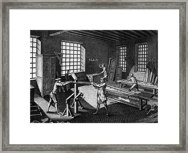 Cabinet Makers Framed Print