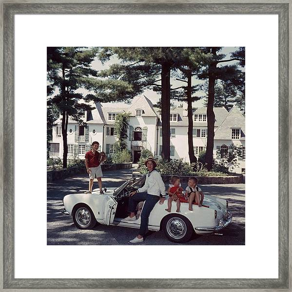 Cabot Family Framed Print