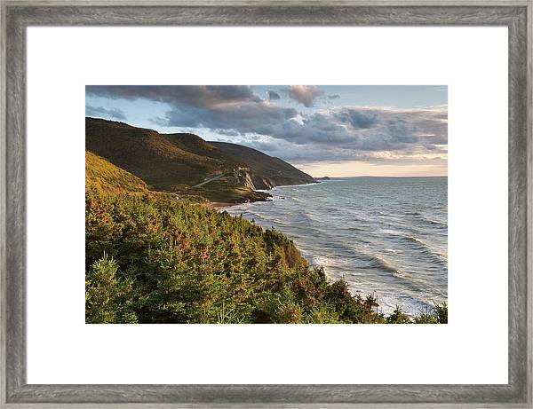 Cabot Trail Scenic Framed Print by Shayes17