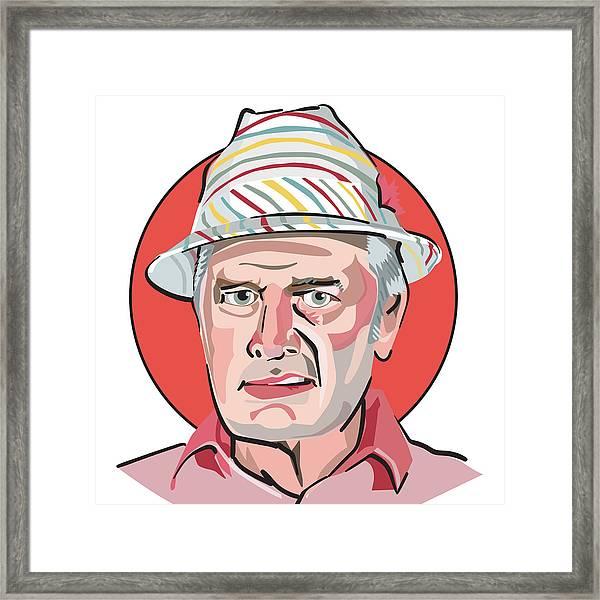 Caddyshack Judge Smails Framed Print