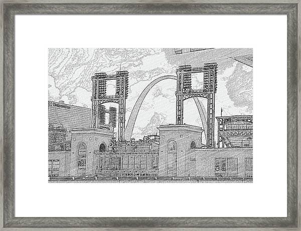 Cadinals Gateway Framed Print