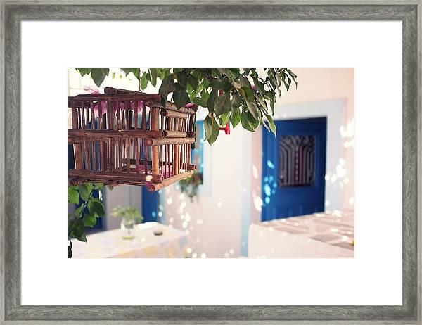 Cage Framed Print