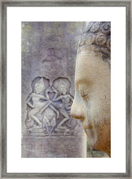 Camboya Framed Print