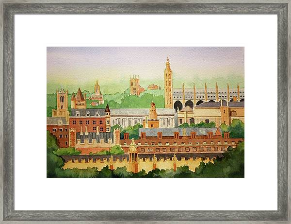 Cambridge Uk Framed Print