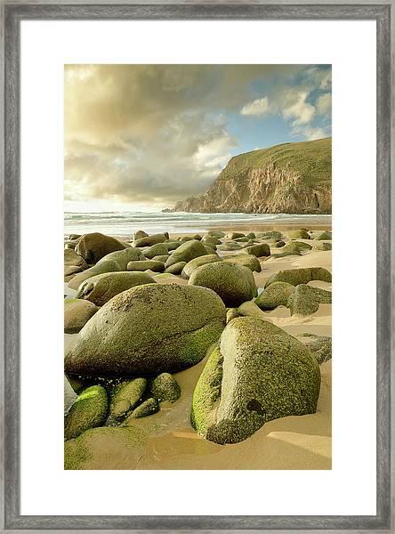 Campelo Beach Framed Print