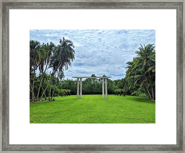 Can You See Your Future? Framed Print