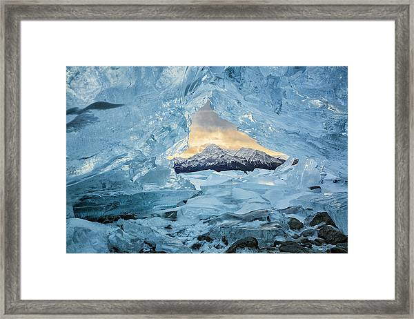 Canada, Alberta, Canadian Rockies Framed Print by Ann Collins