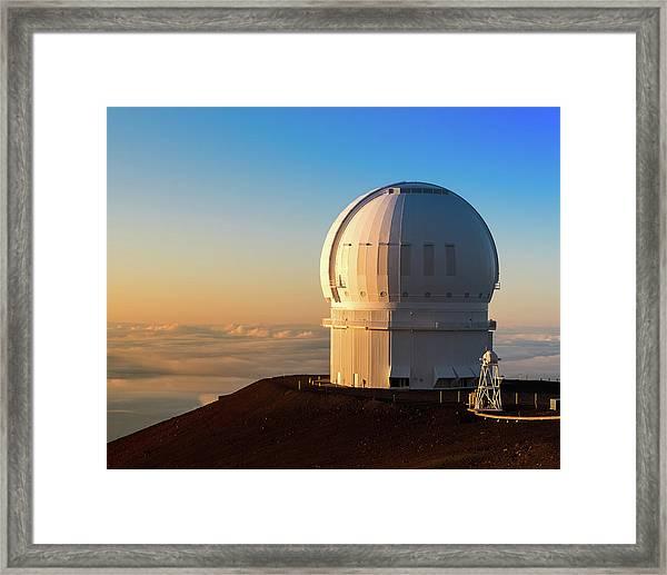 Canada-france-hawaii Telescope Framed Print