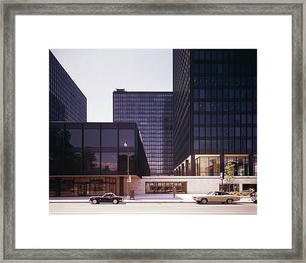 Canadian Buildings Designed By Mies Van Framed Print