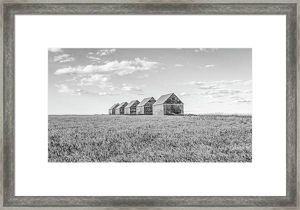 Canadian Prairies Framed Print