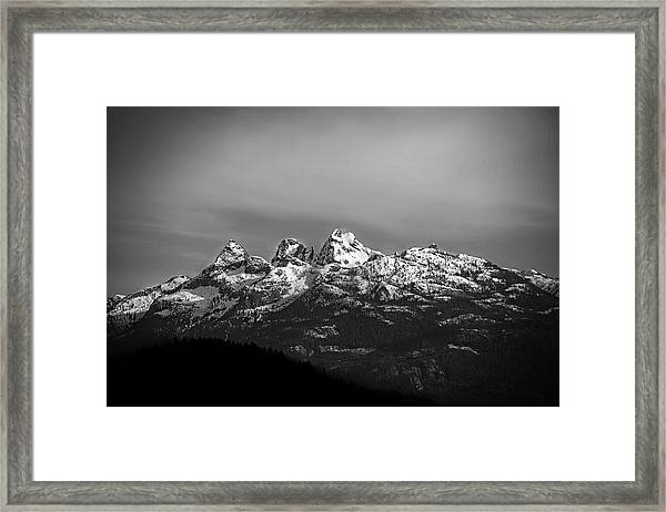 Canadian Rockies Framed Print