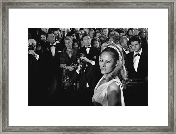 Cannes Film Festival In Cannes, France Framed Print