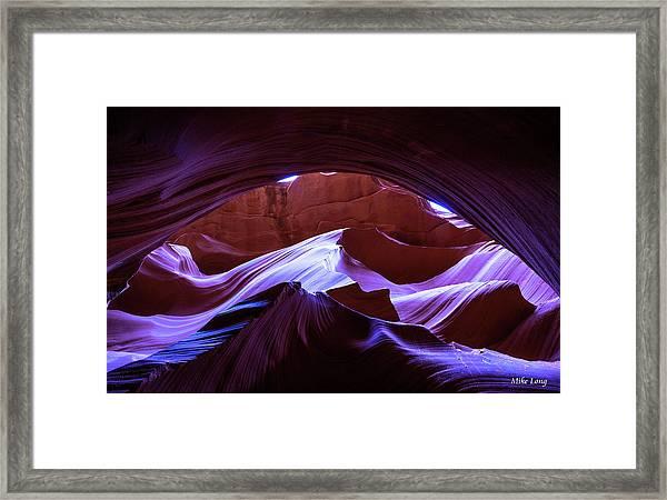 Canyon Magic Framed Print