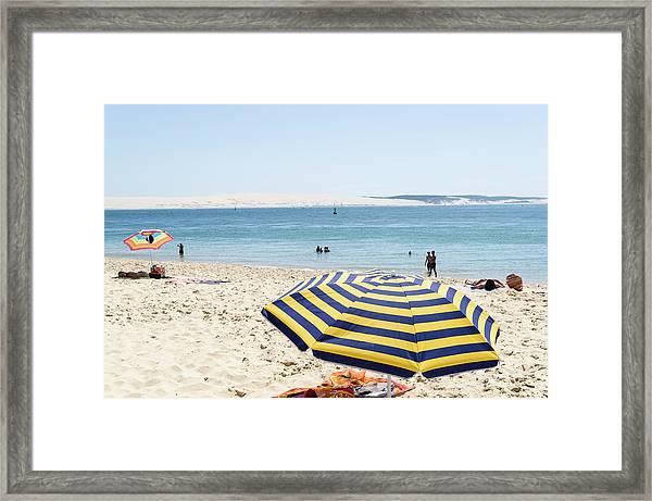 Cap Ferret, Cote D Argent, France Framed Print