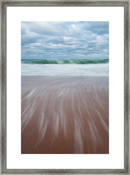 Cape Cod Seashore Framed Print