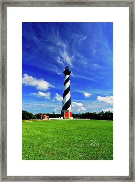 Cape Hatteras Lighthouse Framed Print